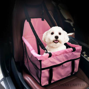Washable Coral Fleece Pet Carrier Dog Car Seat Bag Cover pictures & photos