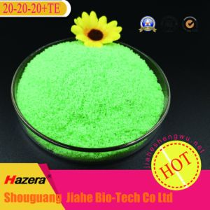 OEM Colors NPK 12-5-43+Te Water Soluble Fertilizer with Powder State pictures & photos