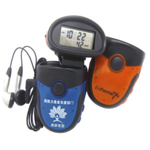 Manufacturers Supply FM Radio Multifunction Pedometer (QRP-823) pictures & photos