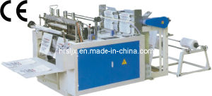 Heat Sealing and Cutting Bag Making Machine (DFR-500) pictures & photos
