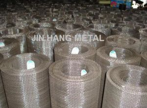 SUS302, 304, 304L, 316, 316L. Stainless Wire Mesh