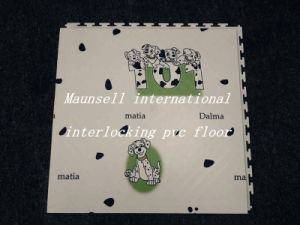 Maunsell International High Quality Interclocking PVC Flooring in Piece pictures & photos