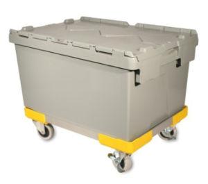 Plastic Container, Plastic Attached Lid Container (PK6040) pictures & photos