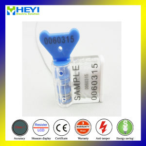 Xhm-014 Bar Code Plastic Meter Seal with Transparent Case pictures & photos