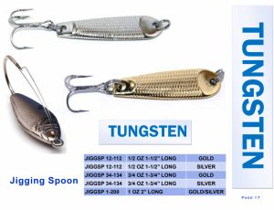 Wholesale Factory Price Tungsten Jgging Spoon pictures & photos