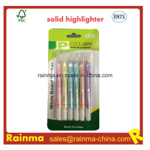 Metal Color Solid Highlighter Pen pictures & photos