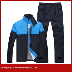 Custom Cheap Polyester Sport Suit for Men (T117) pictures & photos
