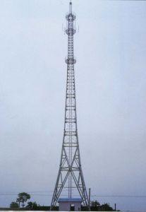 Steel Tubular Pole Telecommunication Tower