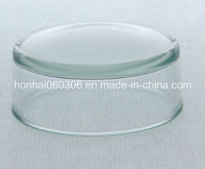 Mould Pressed Borosilicate Glass Water Meter Lid pictures & photos