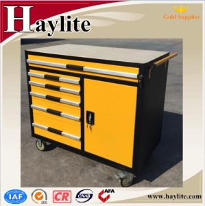 Powder Coating Steel Storage Tool Cabinet with Wheels pictures & photos