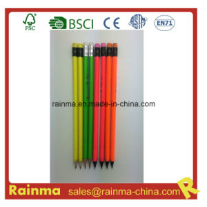 Neon Barrel Color Pencil in Black Wood pictures & photos