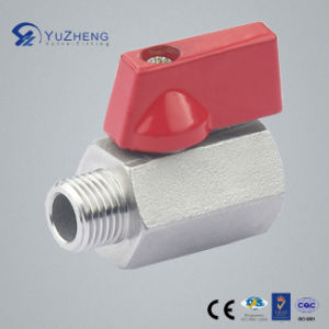"1/4""-3/4"" Mf Mini Ball Valve with Male Female pictures & photos"