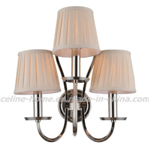 Classical Iron Wall Lamp with Fabric Shade (SL2016-3W) pictures & photos