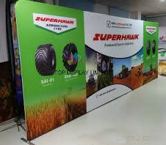 Exhibition Pop up Backdrop Stand Display Fabric Banner Custom Portable Flexible Modular Display pictures & photos
