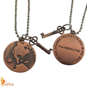 Promotional Gift Custom Matte Copper Plated Pendant for Clothing pictures & photos