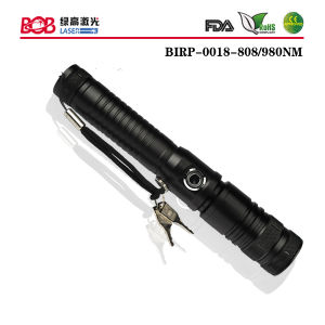 808nm High Power Infrared Portable Laser Torch Pen Style (BIRP-0018-808NM)