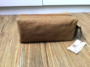 Wholesale Canvas Cosmetic Bag Make up pictures & photos