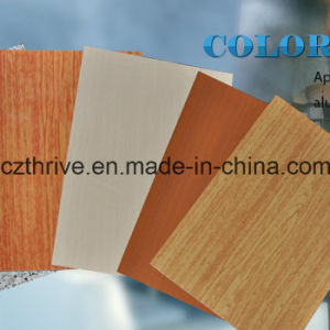 Prepainted Steel Wood Grain Steel pictures & photos