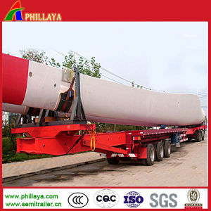 Extendable Low Bed Semi Trailer for Turbin Wind Blade pictures & photos