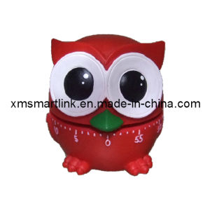 Poly Resin Owl Gifts 60min Kitchen Timer, Owl Souvenir for Gifts pictures & photos