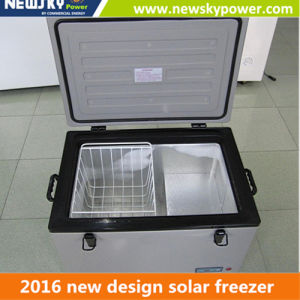 Portable Car Cooler Mini Fridge 12V Solar Car Fridge pictures & photos