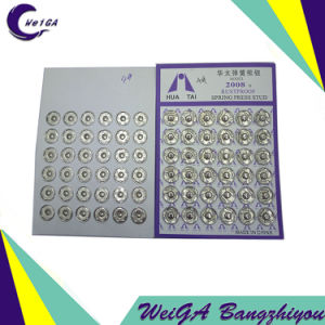 Factory Production of Various Models of High Quality Electroplating Buttons pictures & photos
