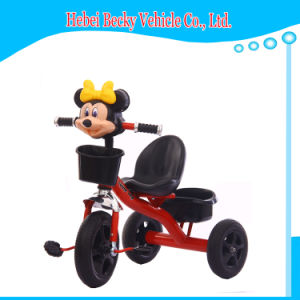 China Factory Kids Tricycle Three Wheeler Ride on Car Pram Carriage pictures & photos