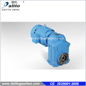 F Series Parallel Shaft Helical Gearbox Gear Motor--Dt-F