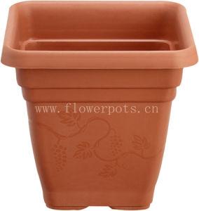 Square Plastic Flower Pot (KD2401-KD2403) pictures & photos