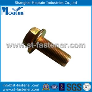 Hex Flange Bolts with Serration DIN6921 Zinc Plated