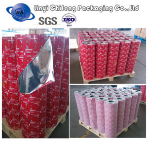 Custom Printing Lamination Food Packaging Film, VMPET/PE Film Roll pictures & photos