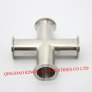 Stainless Steel Sanitary DIN Clamp Cross. pictures & photos