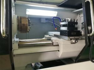 CNC Horizontal Lathe Machine with Good Quality for Turning Metal (6150) pictures & photos