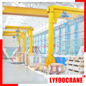 Fixed Column Jib Crane with Hoist (250kg, 500kg, 1t, 2t, 3t, 5t) pictures & photos