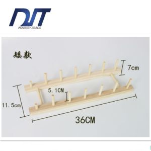 36*11.6*8.4cm Real Draining Wood Dishes Rack with Multifunction pictures & photos