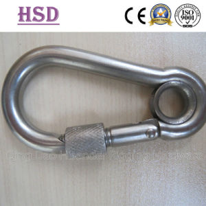 Snap Hook with Eyelet and Screw, Commercial DIN5299c Snap Hook, pictures & photos