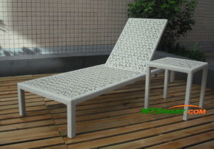 Rattan Chaise Lounge (H005) pictures & photos