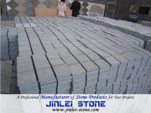 Dark Grey Granite Mesh Back Cobblestone for Paving pictures & photos