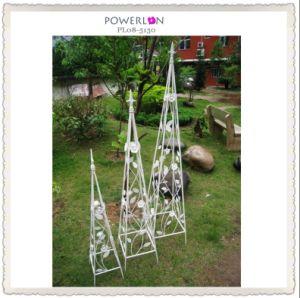 Antirust White Metal Garden Furniture (PL08-5130) pictures & photos