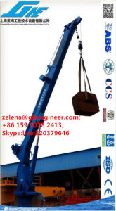 Ship Handling Equipment 2t7m&7t10m Telescopic Boom Ship Crane pictures & photos