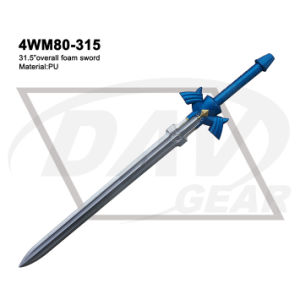 "31.5"" Overall Blue Foam Zelda Sword with Painting: 4wm80-315 pictures & photos"