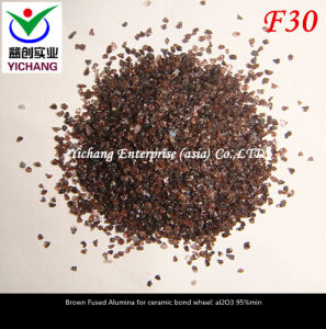 Brown Aluminum Oxide #30mesh for Abrasive Media pictures & photos