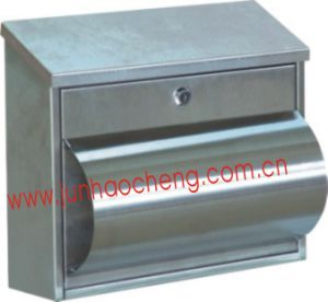 Stainless Steel Wall Mount Mailbox with Newspaper Holder/Letter Box (JHC-2038S)