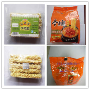 Manual Feeding Rice Noodle Automatic Flow Wrapping Machinery pictures & photos