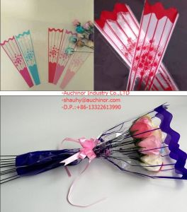 Clear OPP Plastic Transparent Flower Sleeve Bag pictures & photos