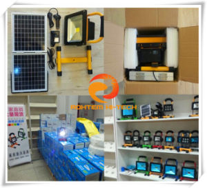 5-20W Rechargeable Portable LED Solar Flood Light
