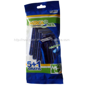 Twin Blade Disposable Razor (KD-P2007L For Men) pictures & photos