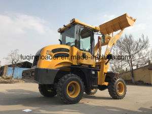 Hot Sale 1.5 Tons Small Loader with Pallet Fork pictures & photos