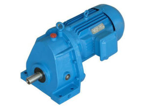 Helical Gearbox Gear Reducer / Geared Motor