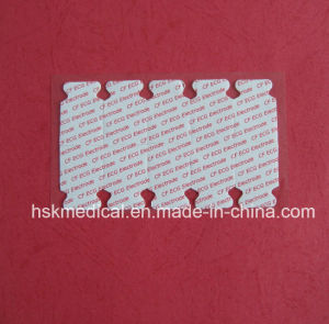 China Factory Supplier Medical Disposable ECG Electrodes Foam 55mm/OEM pictures & photos